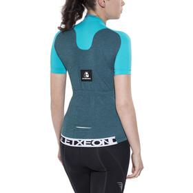 Etxeondo Maillot M/C Terra S/S Jersey Women Blue